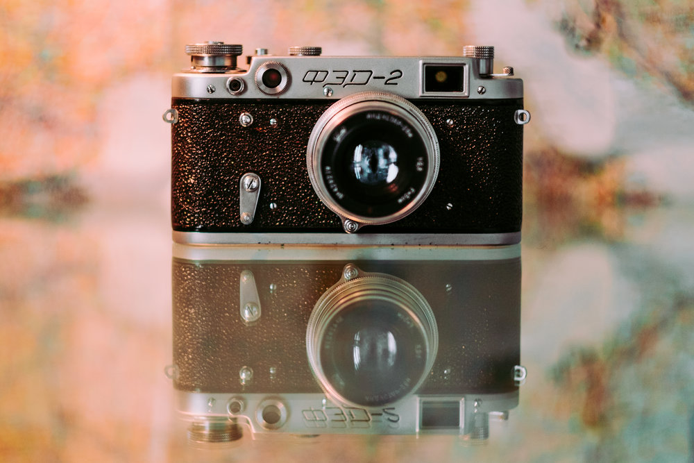 FED-2 Soviet Leica Clone