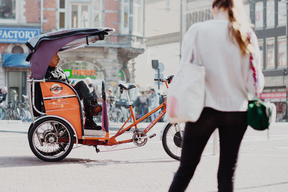 Amsterdam pedicab