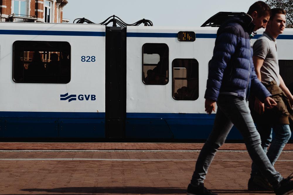 Amsterdam GVB ttram