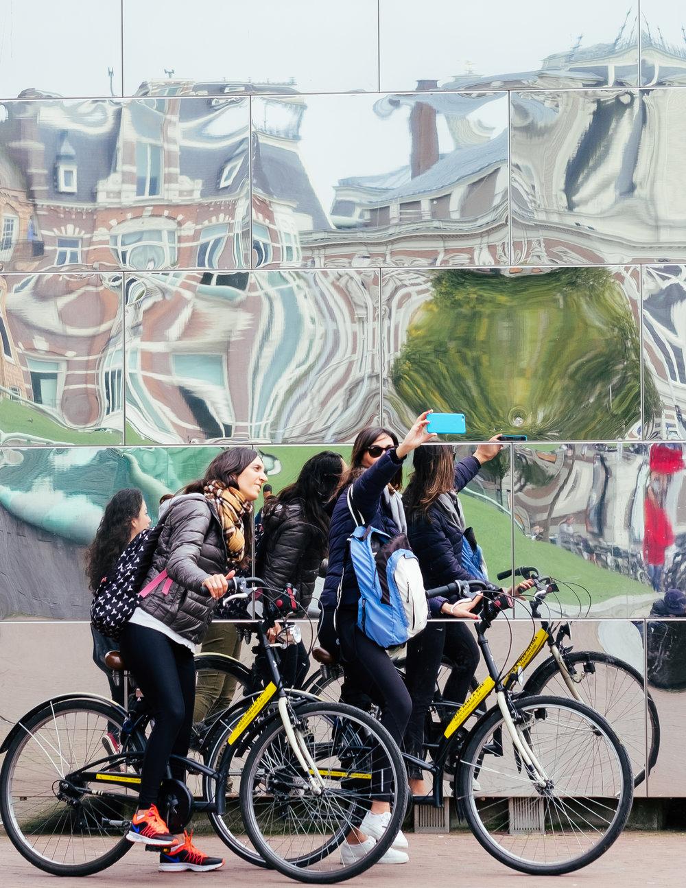 @selfiesacrosseurope at Amsterdam Museumplein