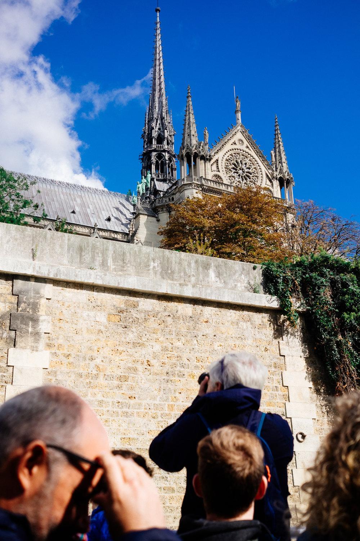 Paris Seine Bateau Notre Dame