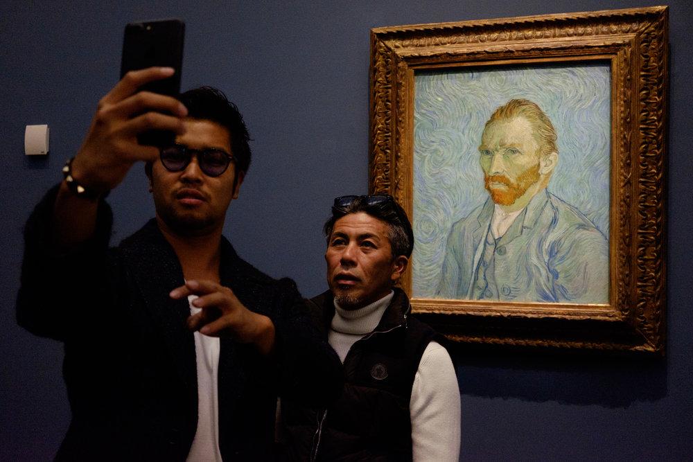 @selfiesacrosseurope Musee d'Orsay Paris Van Gogh