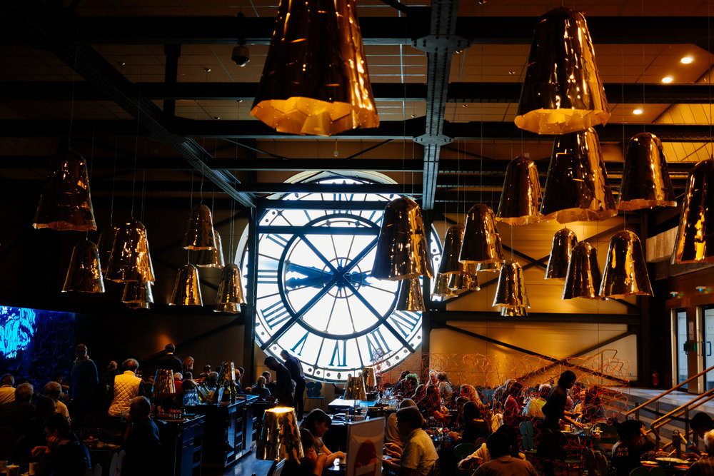 Musee d'Orsay cafe Paris clock