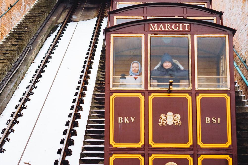 Margit buda castle tram budapest