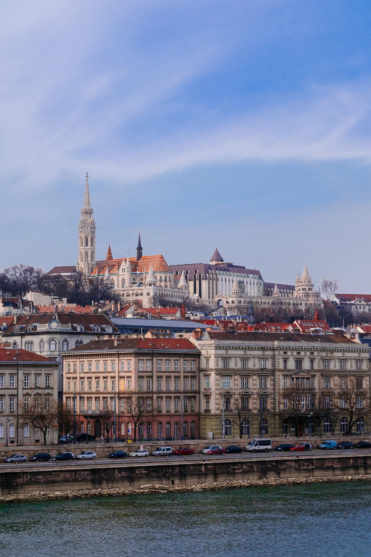 Buda from Pest Budapest