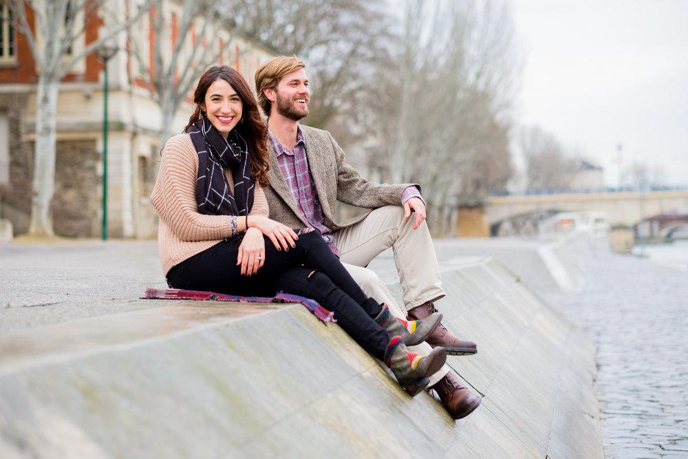 engagement - Paris, France | kristen & brian