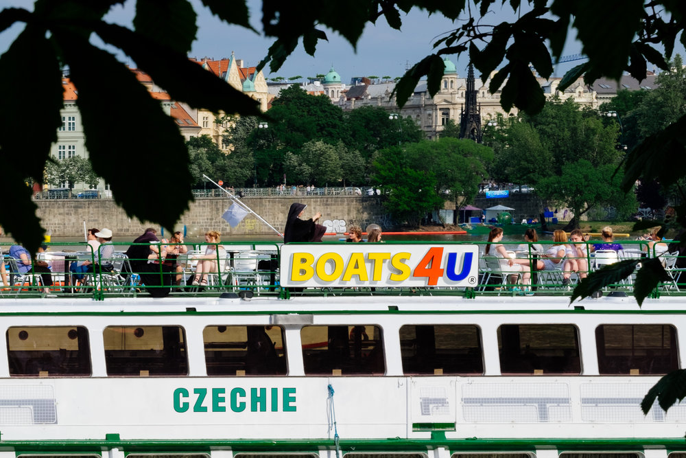 Vltava River Prague Kampa Park Boats4U