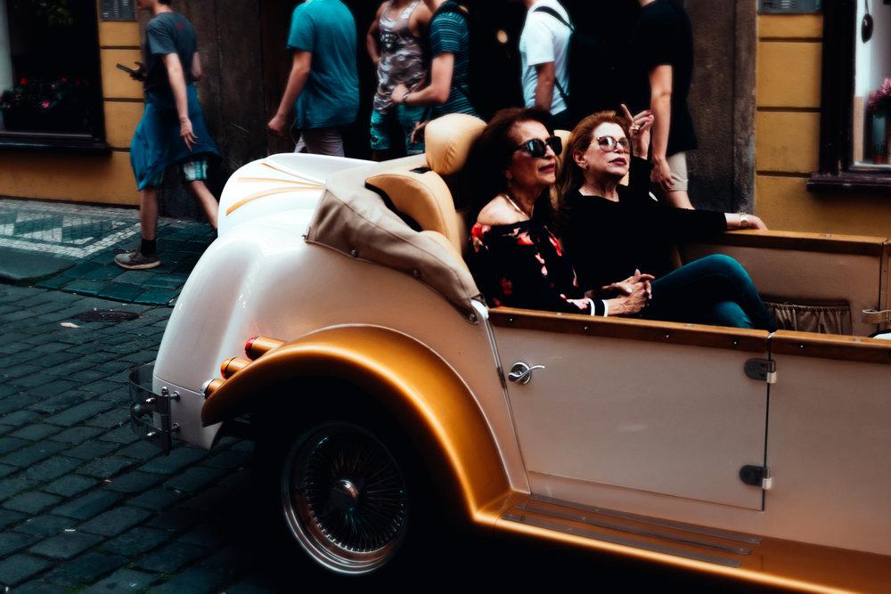 Old Car Tours - Prague Street Photography