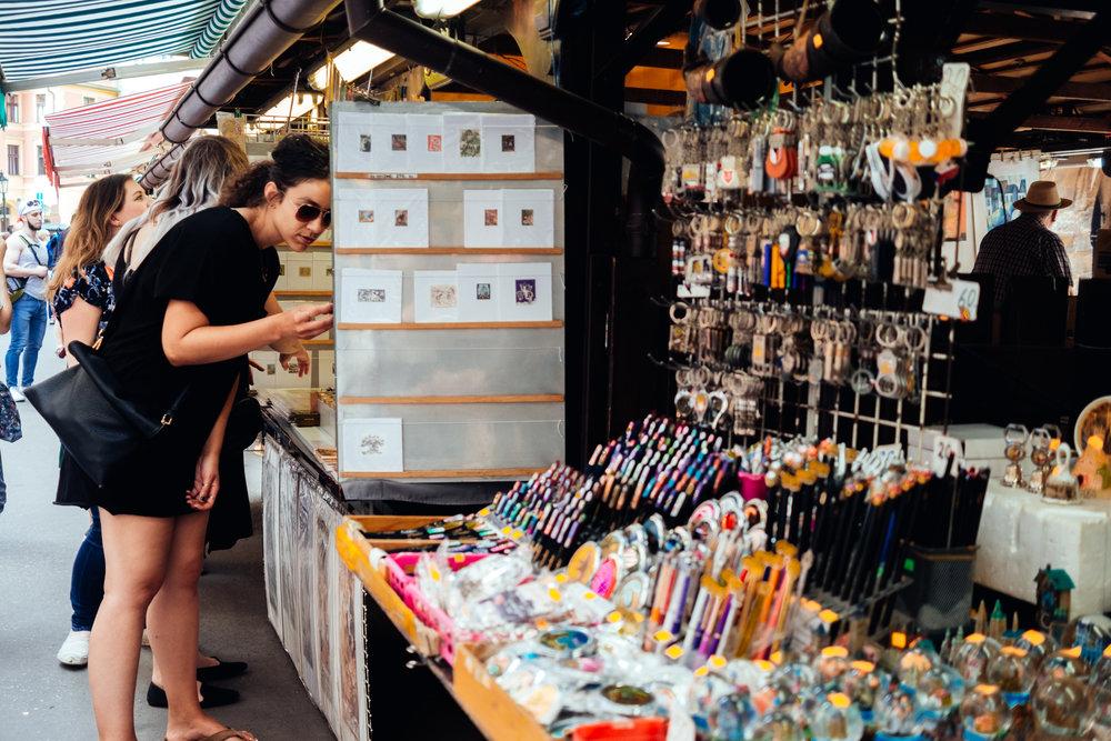 havel market Havelské tržiště prague praha