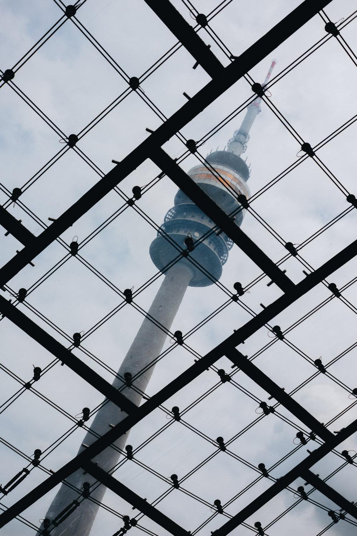Olympiapark münchen munich olympiator olympic tower