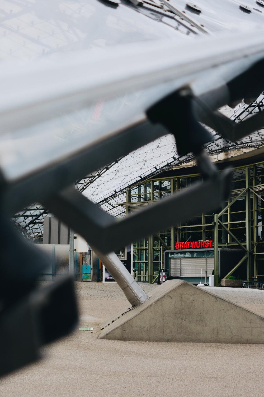 Olympiapark münchen munich bratwurst