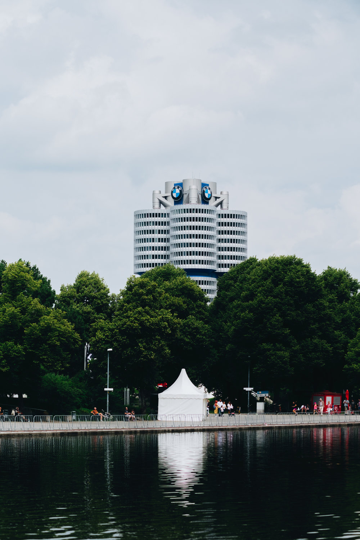 Olympiapark münchen munich BMW headquarters