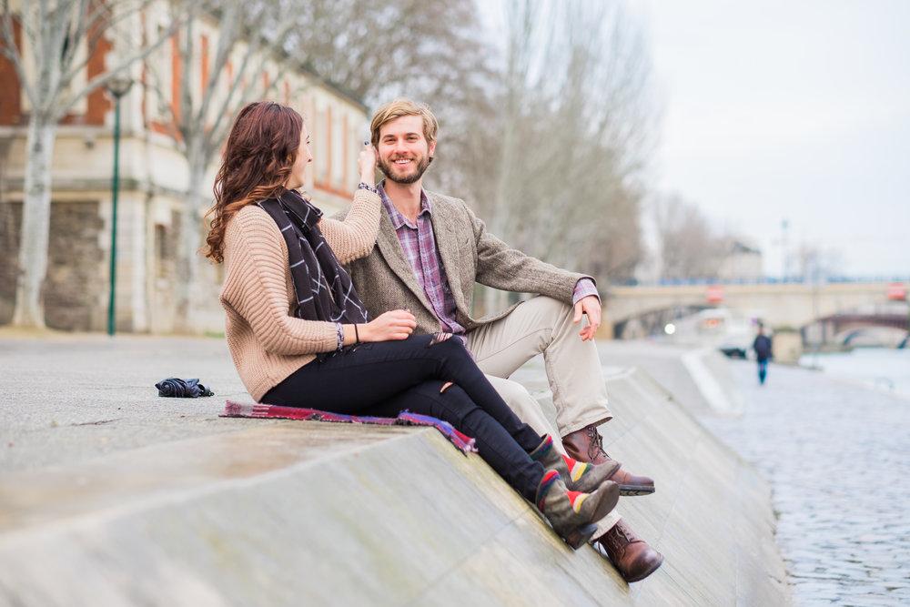 Paris Engagement Photo Shoot