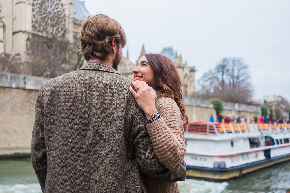 engagement - kristen & brian | Paris, France