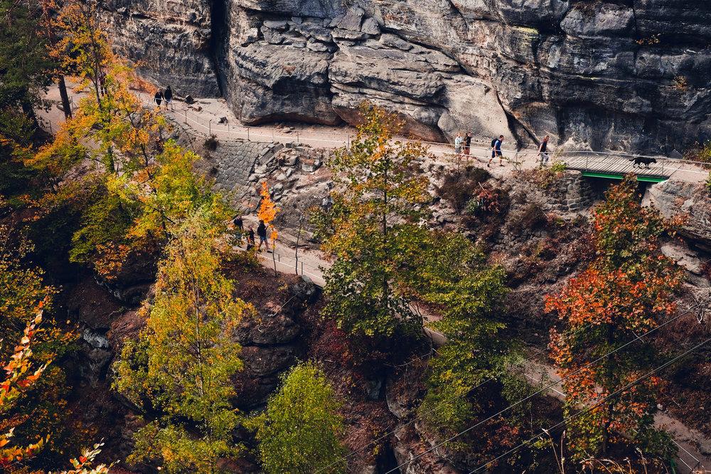 October : Bohemian Switzerland