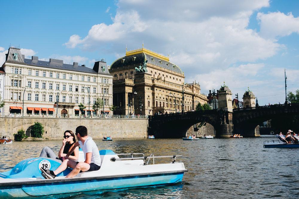 July : Prague, Czech Republic