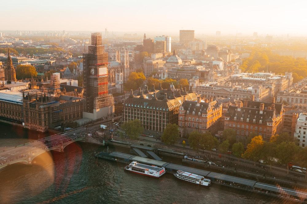 May : London, United Kingdom