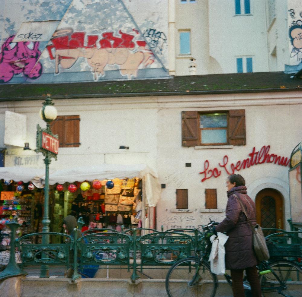 Paris Flexaret VI Portra 800