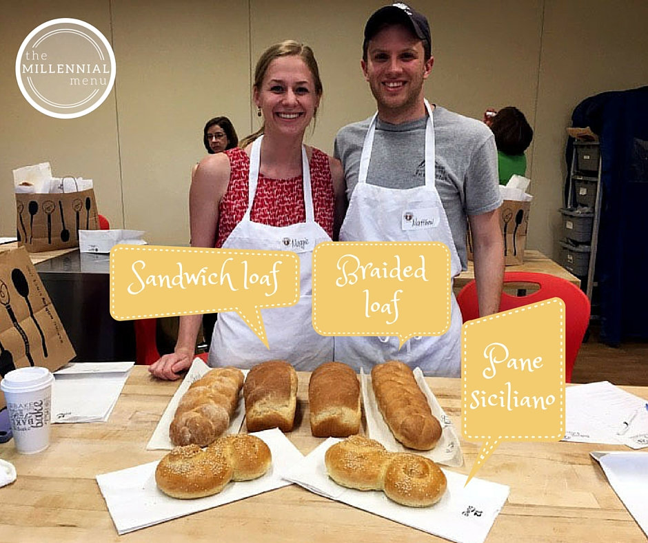 Learn to make three kinds of bread PLUS scones at the King Arthur Flour Bread 101 class in Norwich, VT! | themillennialmenu.com