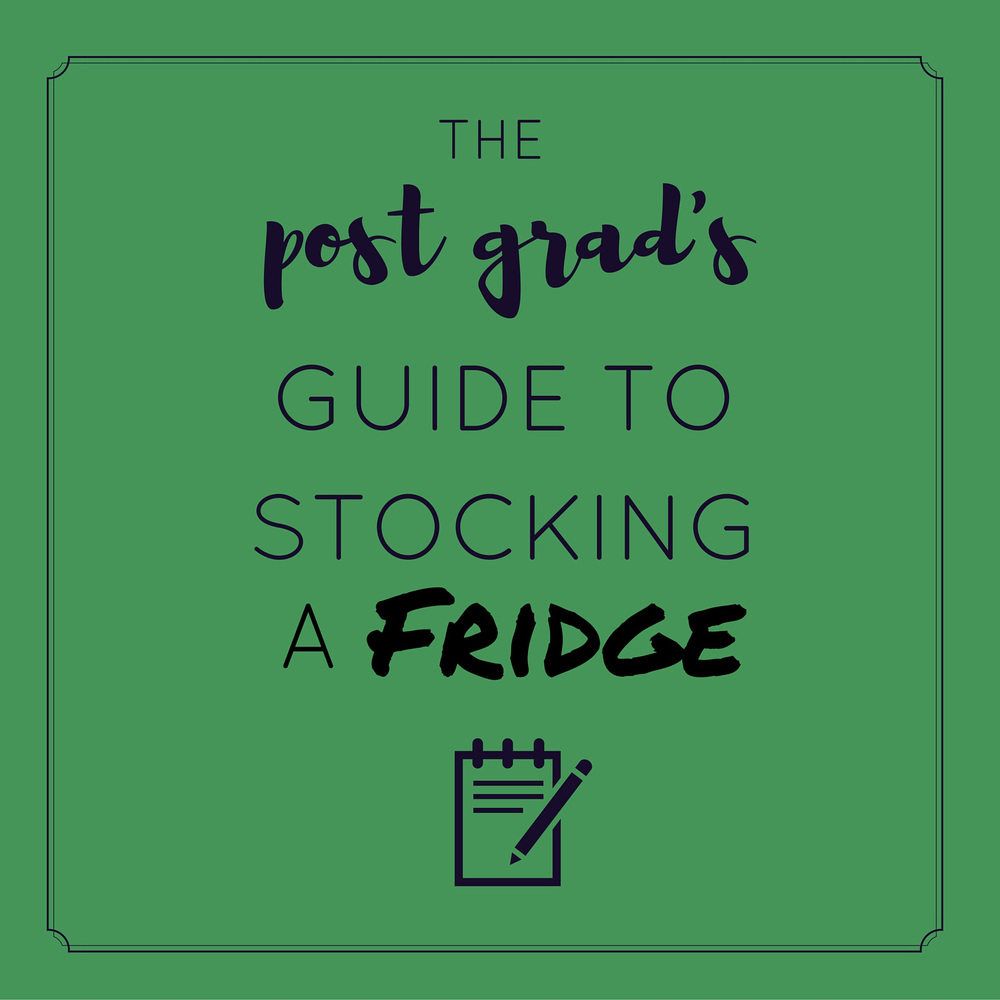 What you need in your fridge at all times - that won't really go bad! | themillennialmenu.com