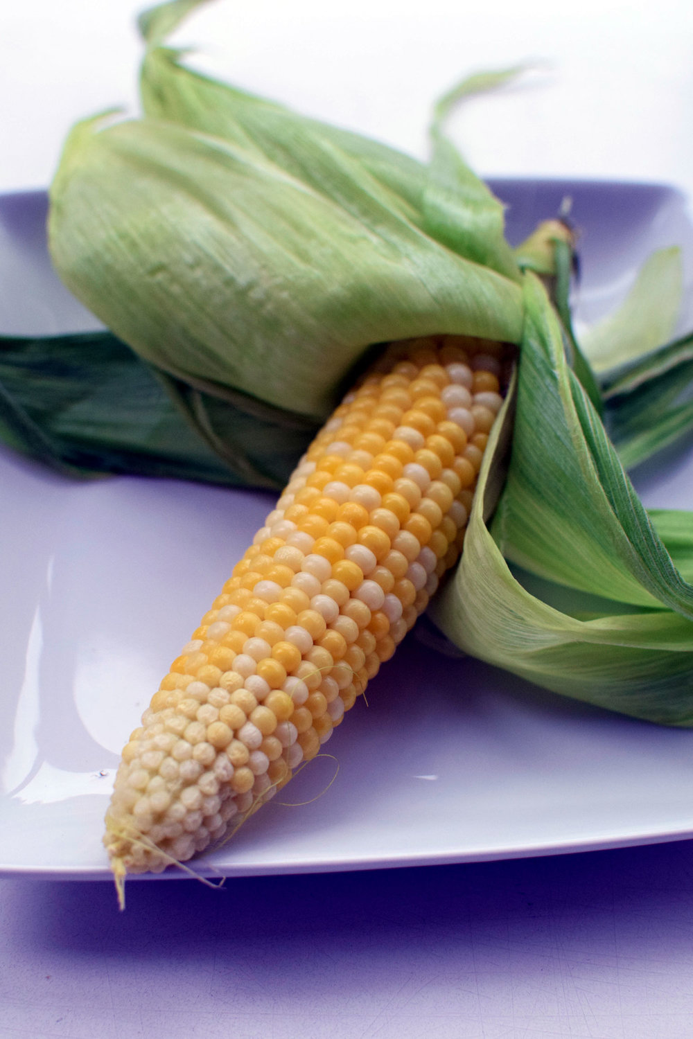 Microwave Corn on the Cob is ready in just 3 minutes start to finish. Farm fresh doesn't get any easier than this! | themillennialmenu.com