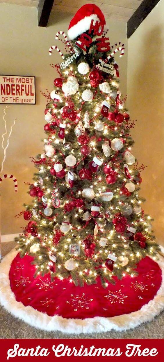 Themed Christmas tree can be used to share hobbies or your favorite thing about the season. As well you can use chosen color schemes on them. My husband has a few Star Trek ornaments that he loves to use on the tree.