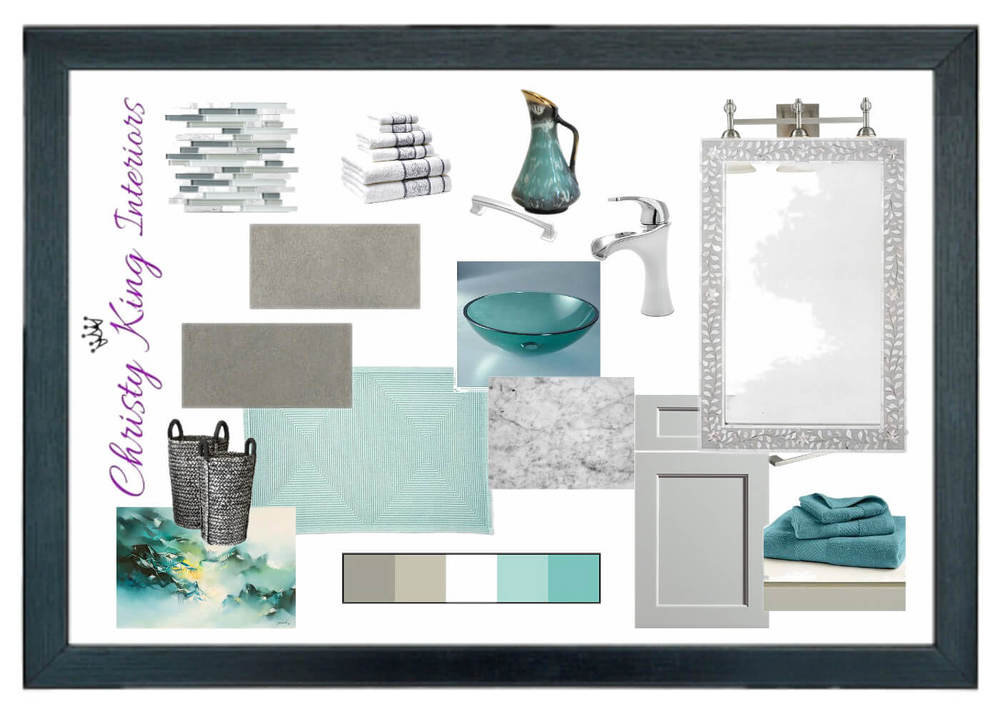 Bathroom color selections