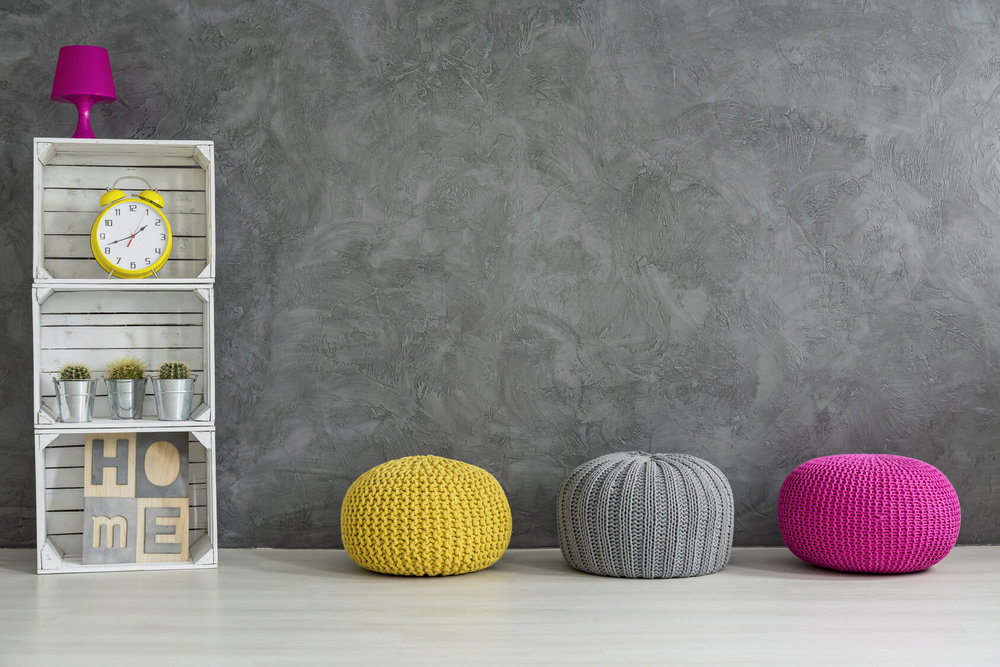 Learn to live without the pouf