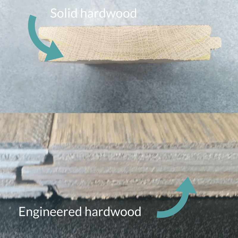 solid vs engineered hardwood