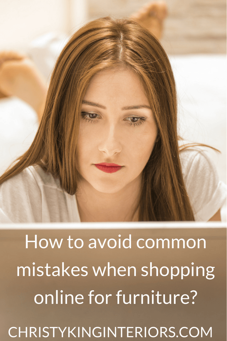 mistakes when shopping online for furniture