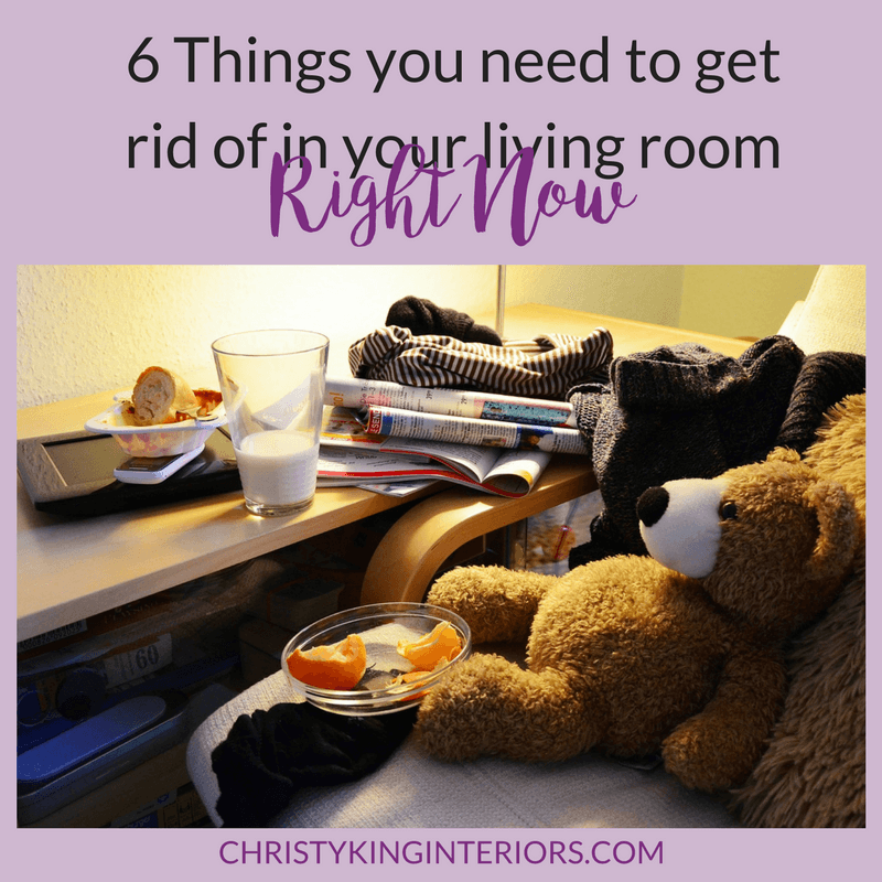 Declutter your room first