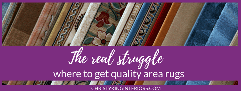 Where to get area rugs