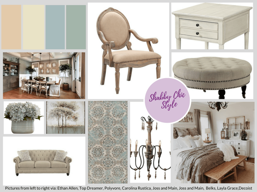Shabby Chic Design Style