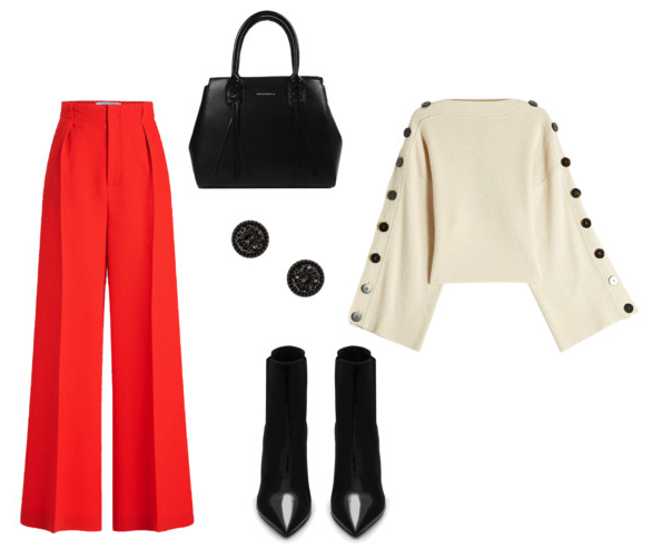 Aries - Confident shapes and bold color