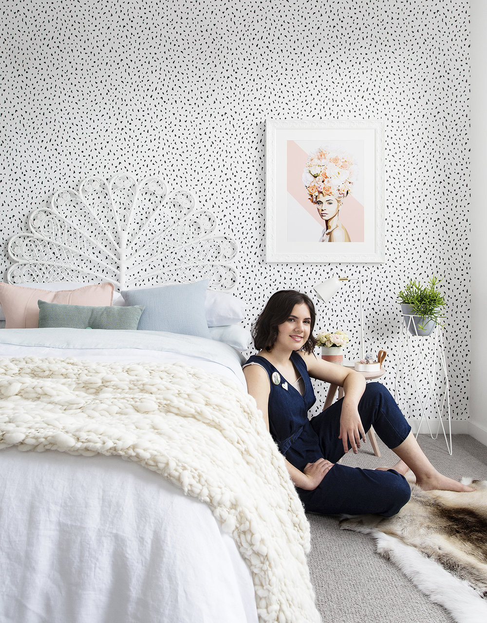 Pastel Bedroom Serenas Pastel Bedroom Adore Home Magazine