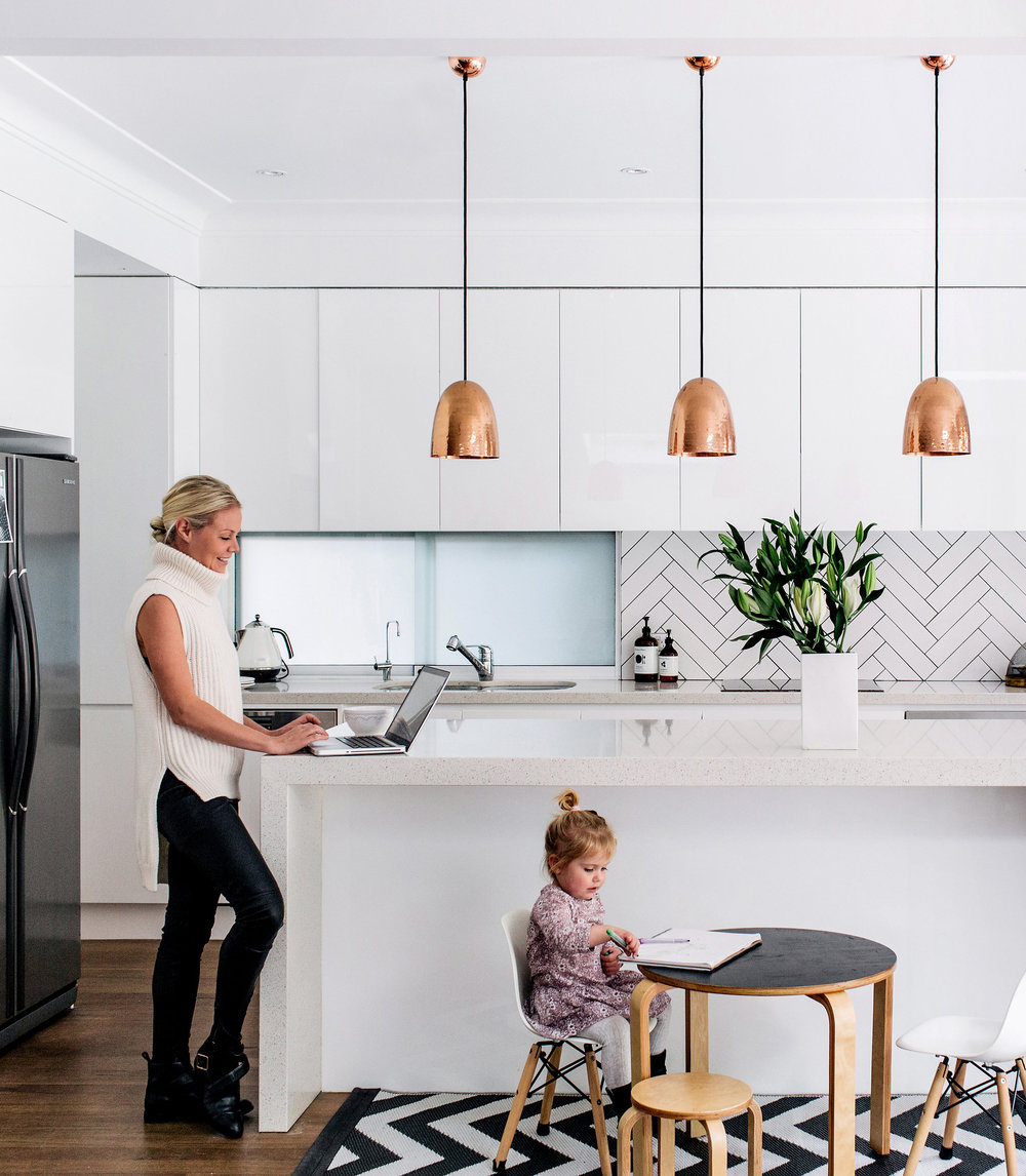 Current crush subway tiles adore home magazine i love a good herringbone pattern pair it with a long and lean subway tile and black grout and youve got instant chic a perfect example of this dailygadgetfo Image collections