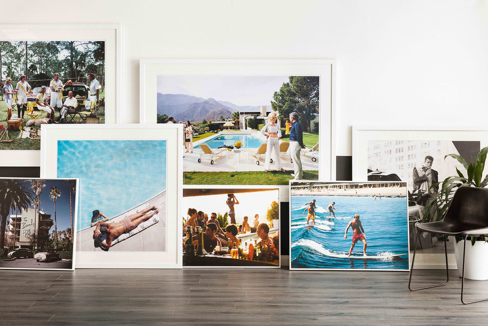 A range of Slim Aarons prints available through Coco Republic