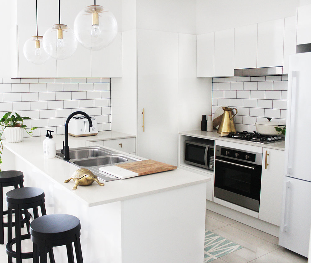 My Mini Kitchen Makeover — Adore Home Magazine