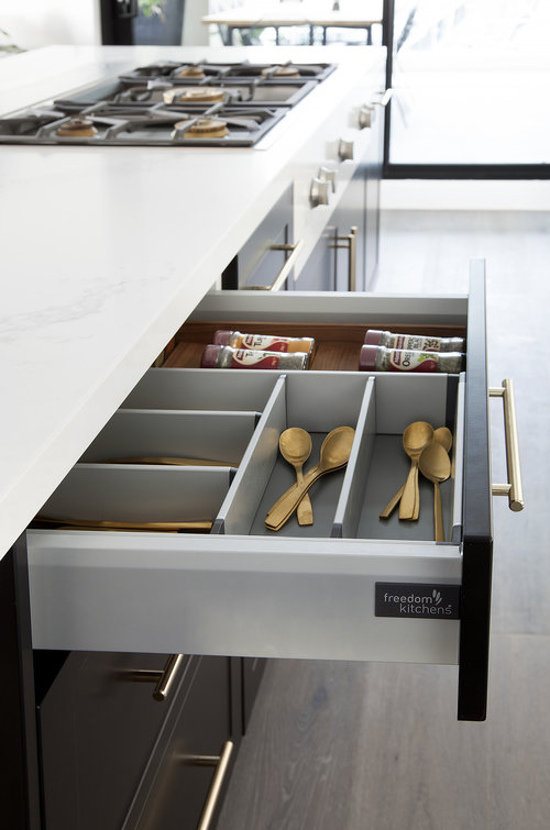 freedom furniture kitchens. Smart Storage Solutions Can Transform How You Use Your Kitchen Space. Adjustable Drawer Dividers For Cutlery And Utensils, Mean That These Essential Freedom Furniture Kitchens L