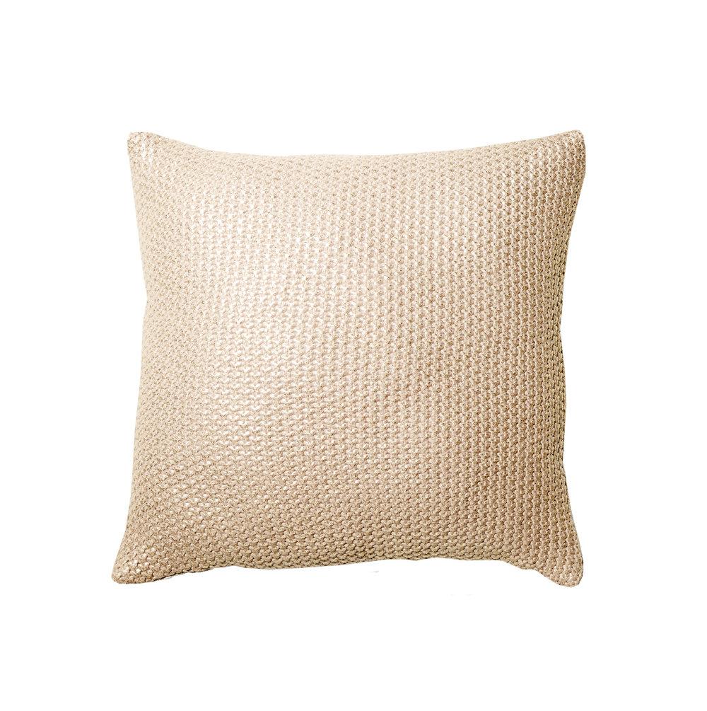 lowKmart metallic knitted cushion - RRP $12.jpg