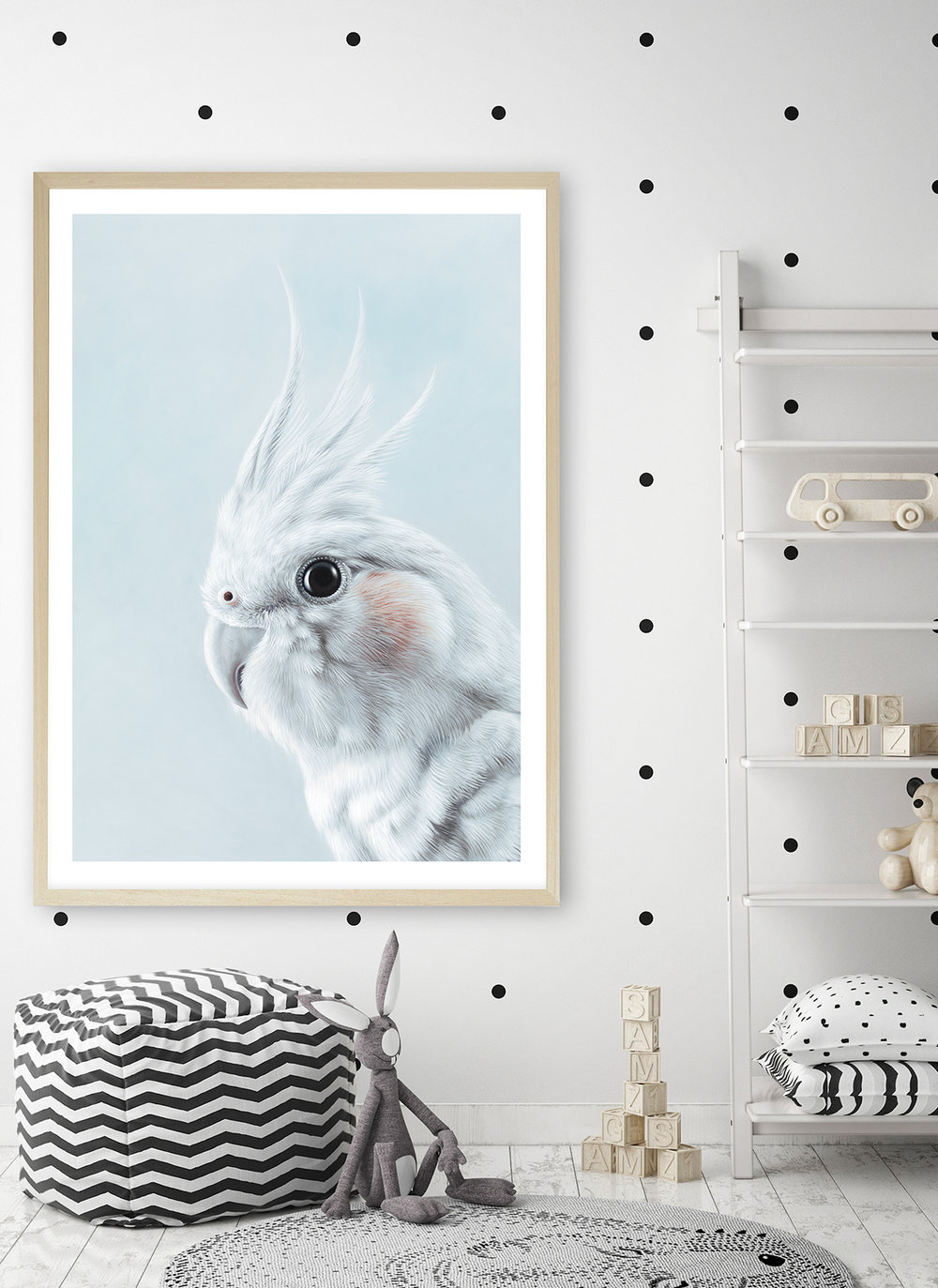 the_print_emporium_Cockatiel in Blue Art Print__.jpg