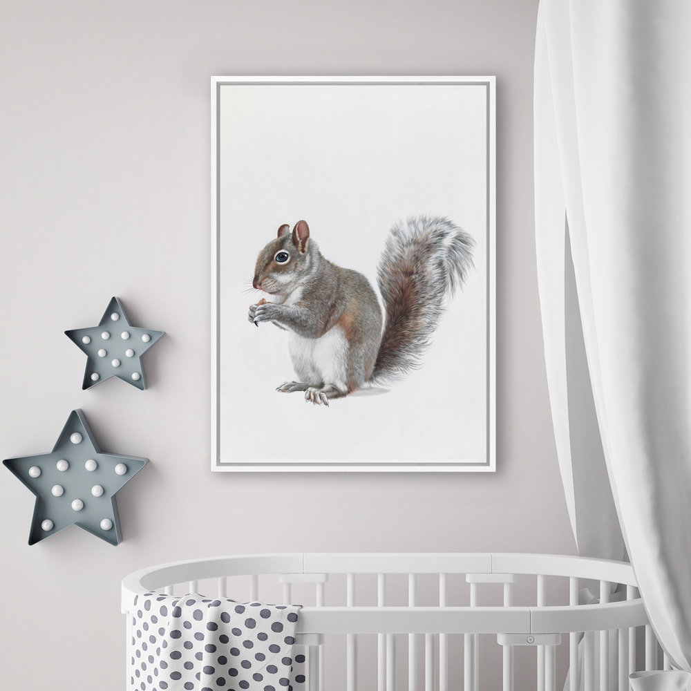 Baby Squirrel Canvas  By The Print Emporium.jpg