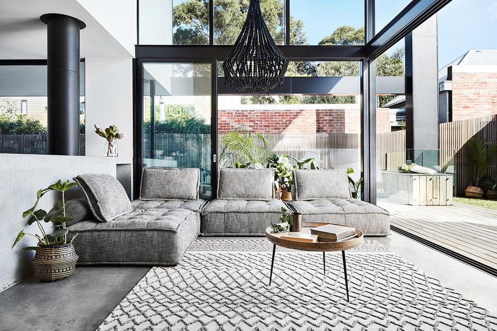 Nomad Diamond hand-tufted rug (240 x 300cm) $799