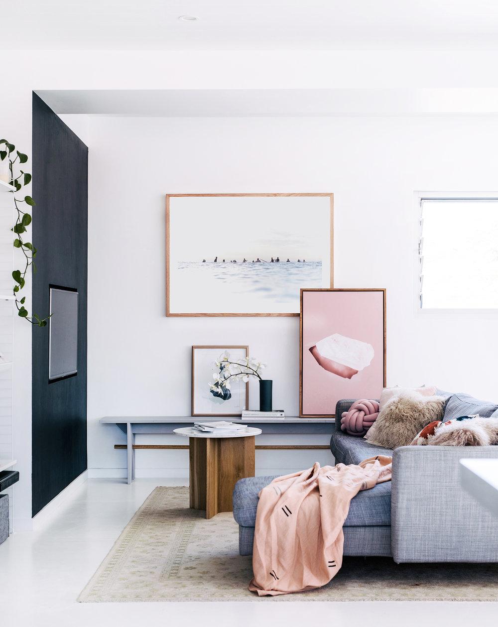 Interior design  Nicola Greenaway  /   Photography  Hannah Blackmore  /   Styling  Claudia Stephenson