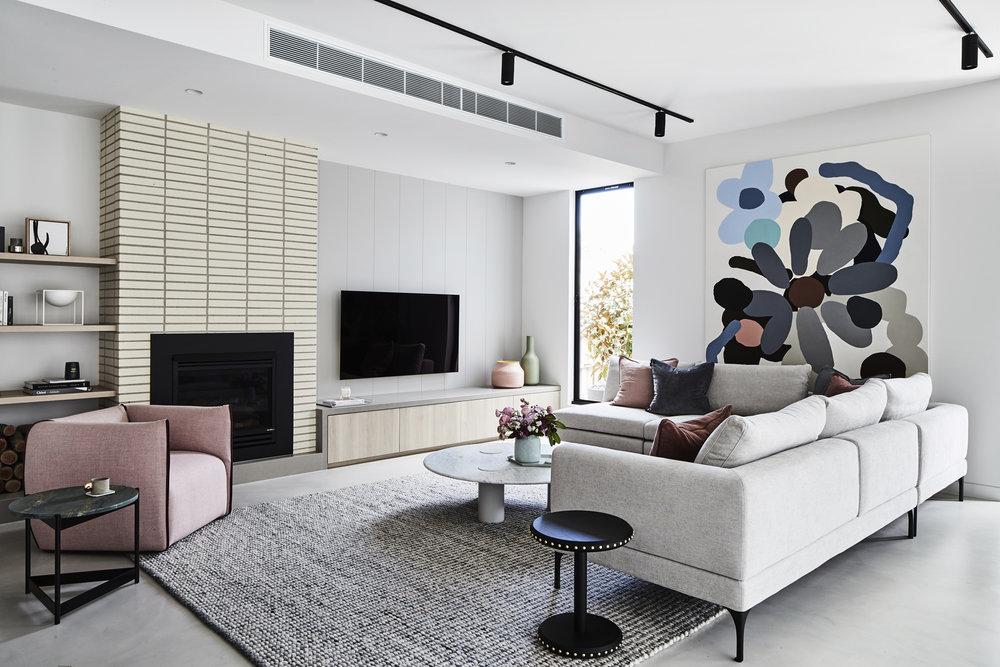 Interior design  Archer Interiors  /   Photography  James Geer