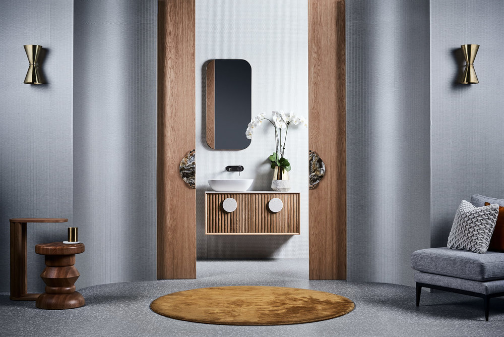 Issy Halo I vanity unit