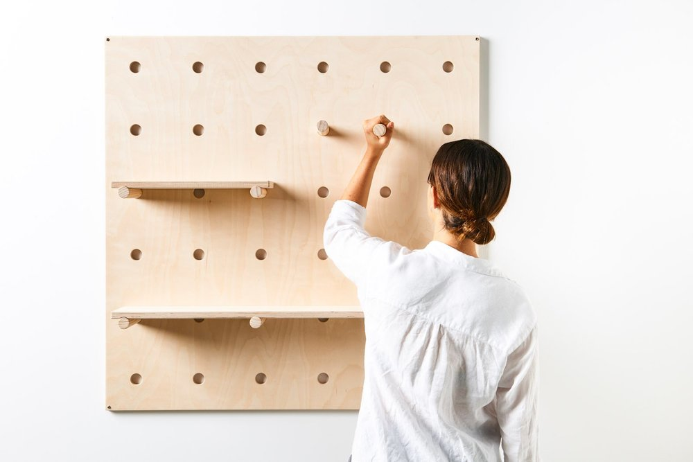 Bang Bang Pegboard from George & Willy
