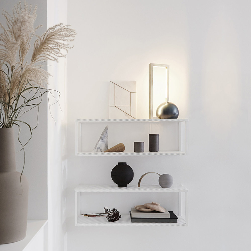 Kristina Dam 'Grid' wall shelf (large)