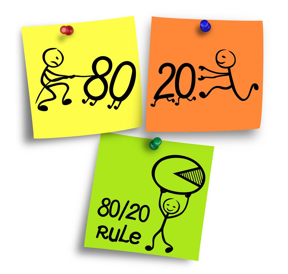 80/20 rule work