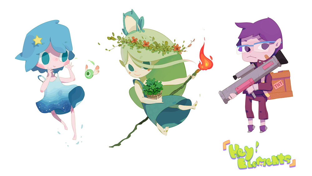 Hey! Elements